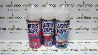 Жидкость Lets Vape 120 мл 0 мг/мл