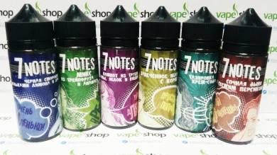 Жидкость 7 Notes 120 мл 3 мг/мл