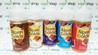 Жидкость ALPEN GOLDS 3 мг/мл 100 мл