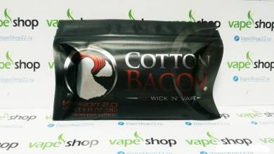 Вата Cotton Bacon V2 10 полосок WickNVape