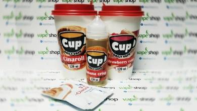 Жидкость CUP by Daily Vape 3 мг/мл 120 мл