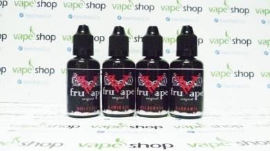 Жидкость FruVape 0 мг/мл 30 мл