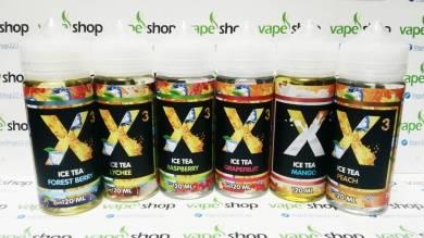 Жидкость X-3 ICE TEA 3 мг/мл 120 мл